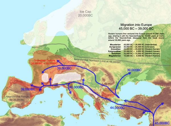 Image result for european glacial periods